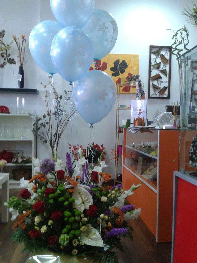 regala flores en el día de la madre en Sevilla