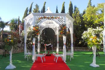 flores bodas aire libre
