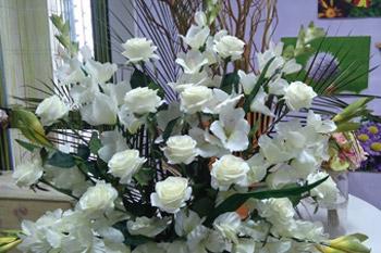 centros flores blancas sevilla