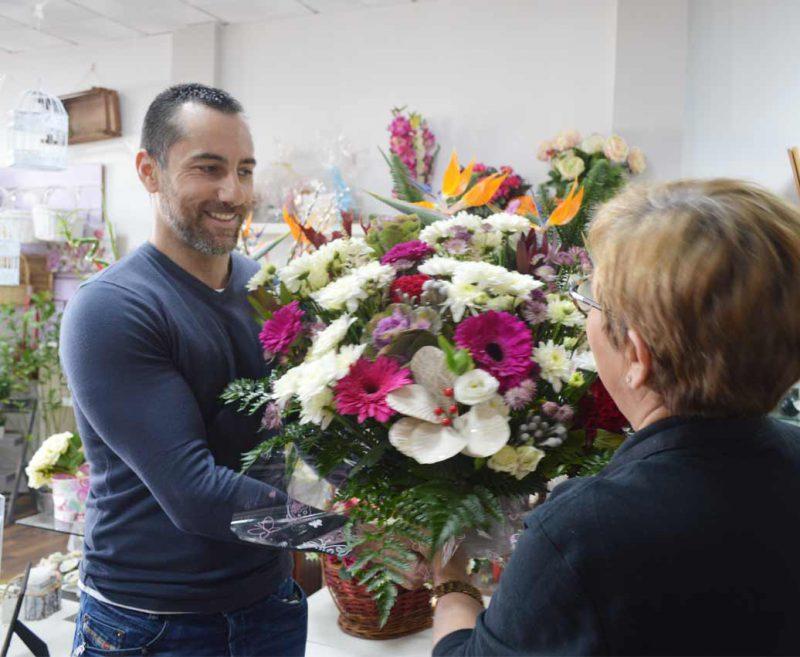 Contacto floristería en Sevilla