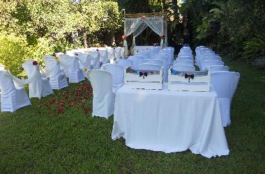 decoración de bodas aire libre